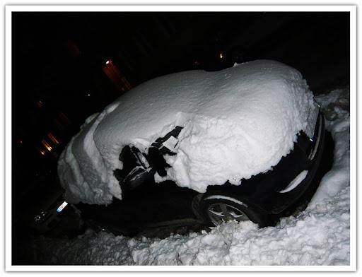 Inbäddad bil