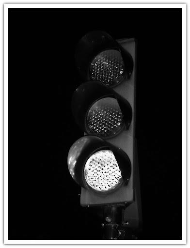 Grönt ljus, stålbjälke