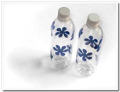 Piffasde vattenflaskor