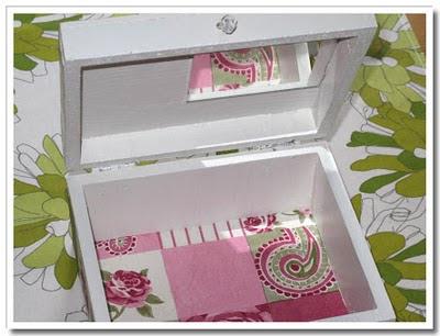 Insida av lådan