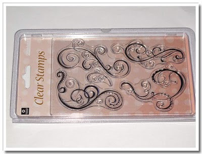 Clear stamps 'Swirl'