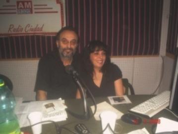 """PRESENTACIÓN en """"Radio Ciudad"""""""