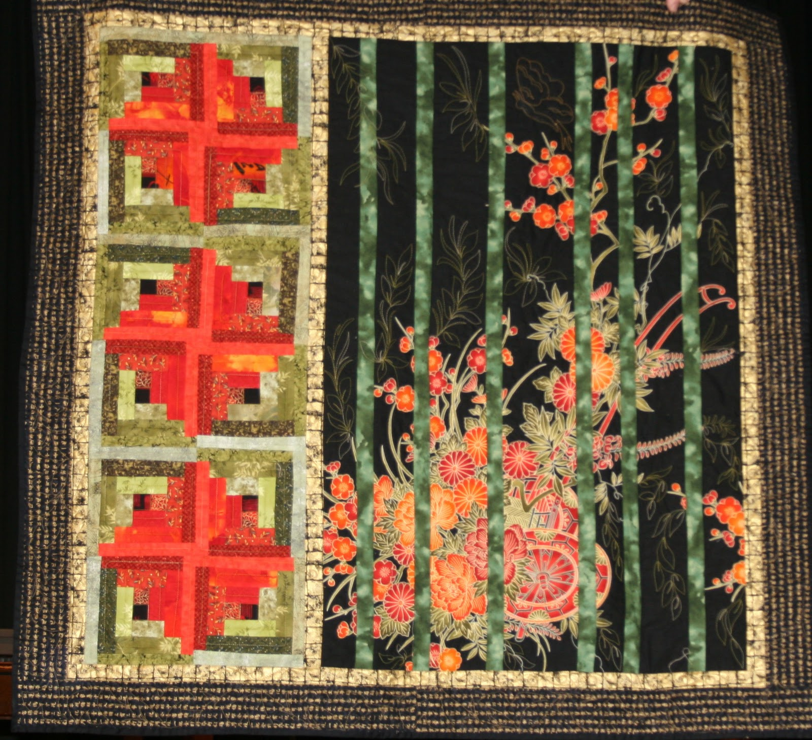 Utah Valley Quilt Guild: November Show and Tell : bamboo quilt pattern - Adamdwight.com
