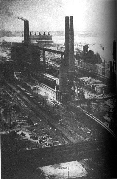 La industrialización del país fue un proceso que se aceleró durante la década de los cuarenta