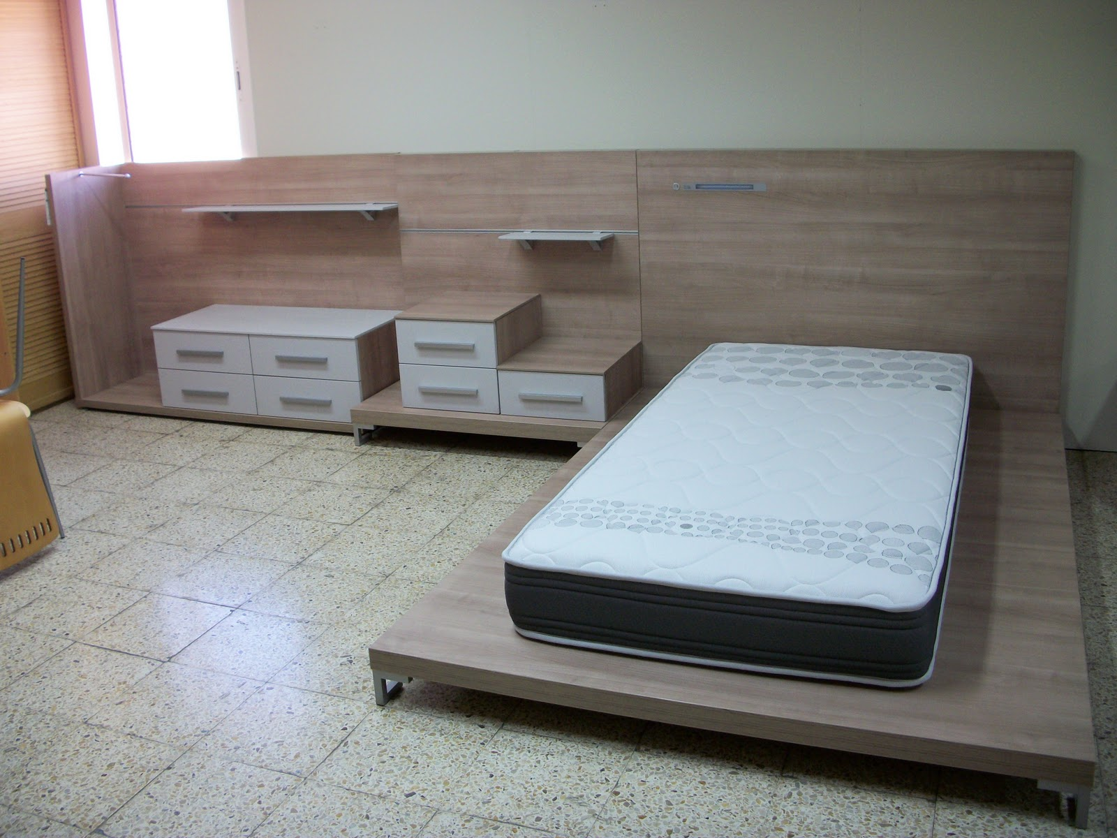 Mobles andreu dormitori tatami juvenil - Colchon tatami ...
