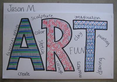 Grade 5 Portfolios Collecting Words Teachkidsart