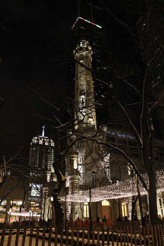 Chicago Wate Towerr at Christmas, 2010