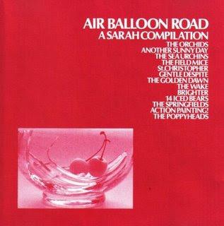 """Discos maravillosos IV: """"AIR BALLOON ROAD, A SARAH COMPILATION"""" AirBalloonRoad"""