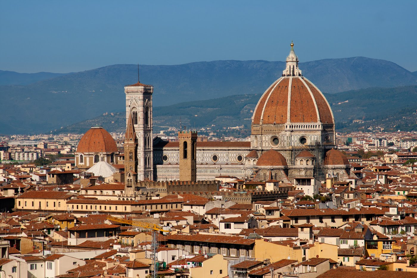 ... with my family jetting off to the historic city of Florence, Italy