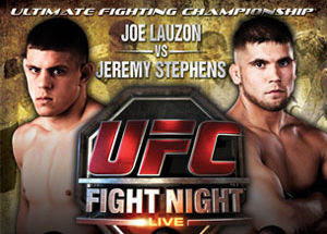 UFC Fight Night Lauzon vs Stephens  Live Stream