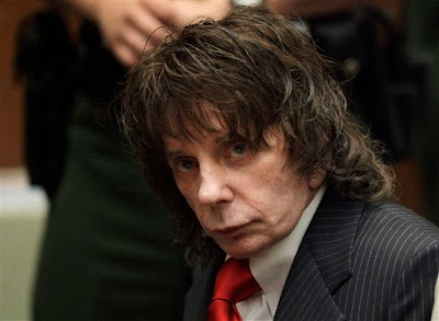 Music producer Phil Spector on Friday was sentenced to 19 years to life for the murder of actress Lana Clarkson.