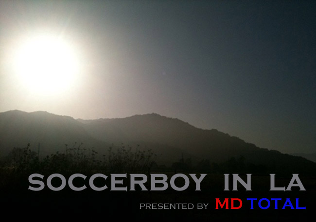 Soccerboy in LA