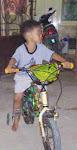 aq,,lg naik sepeda kesayanganku