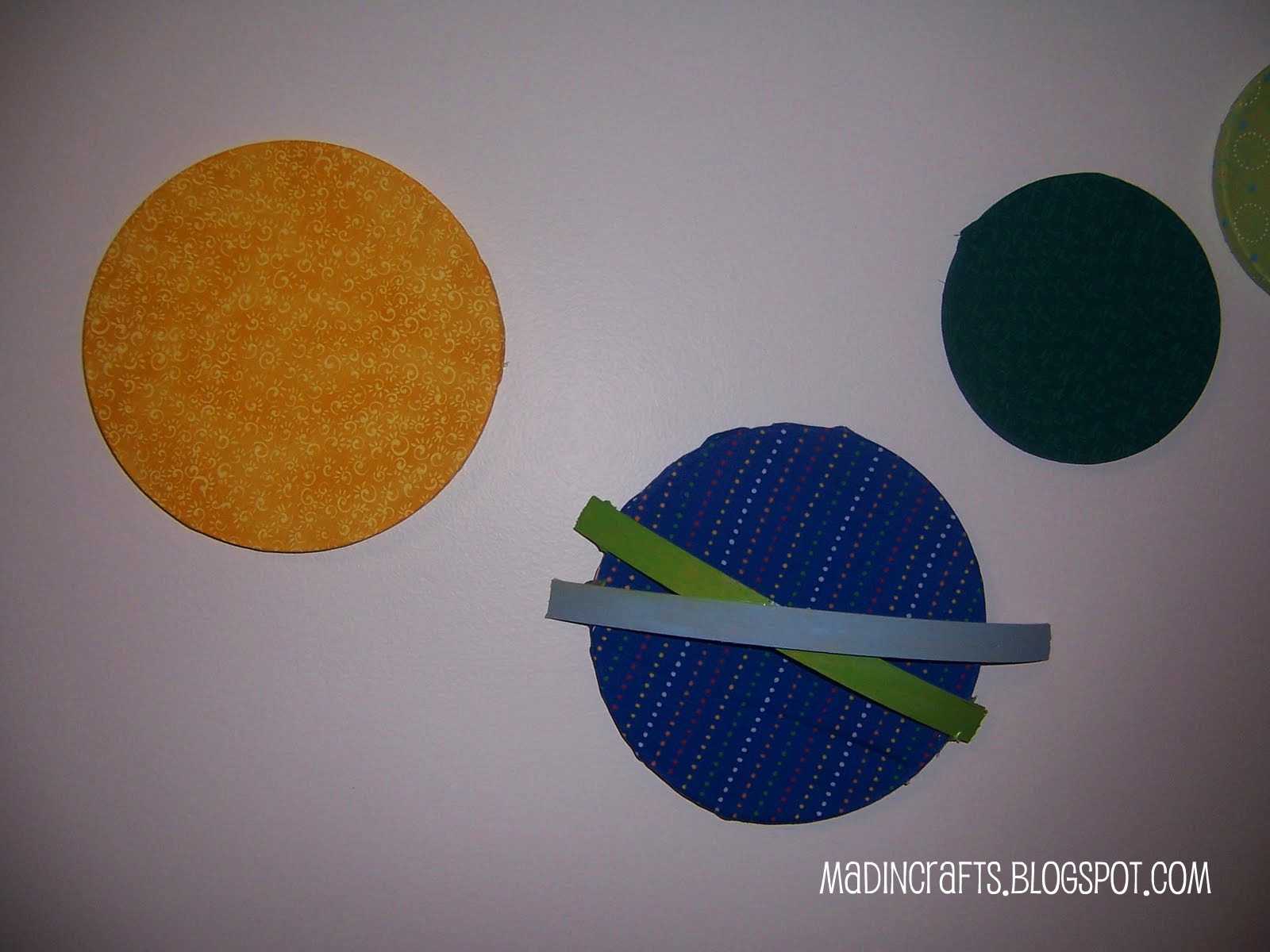 easy solar system craft - photo #24