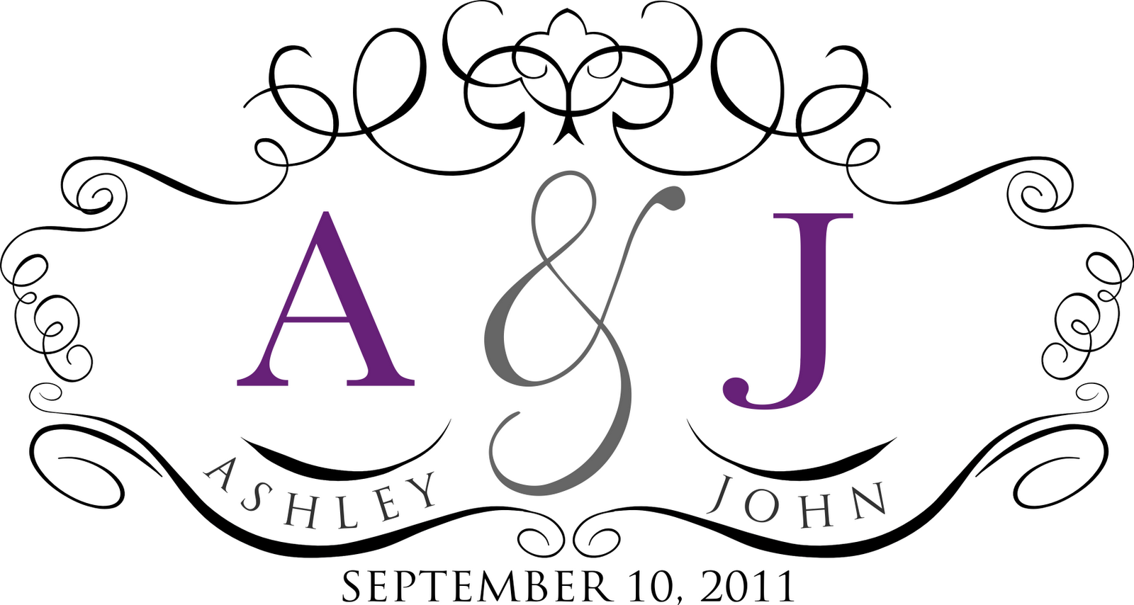 wedding monogram free template - 28 images - 7 best images of free ...