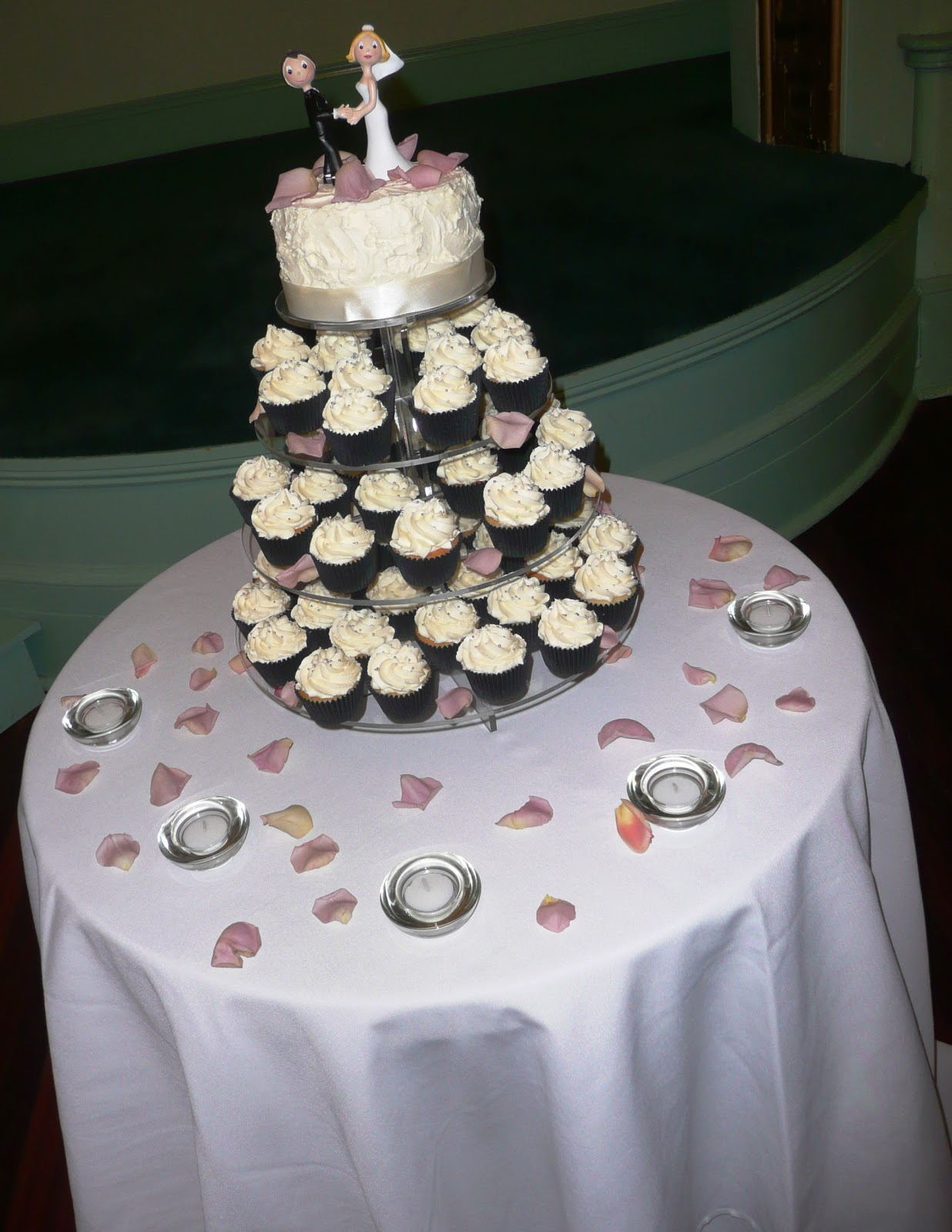 Black And Silver Wedding Cakes Viewing Gallery