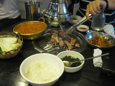 Sadang: Korean BBQ at 새마을식당 New Village Restaurant