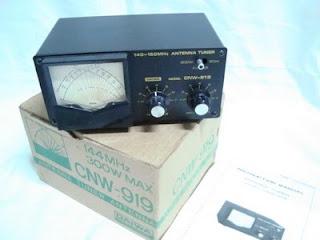 SWR Tuner Daiwa CNW-919+Damiload DL-30A+Kabel Jumper+Protektor ...