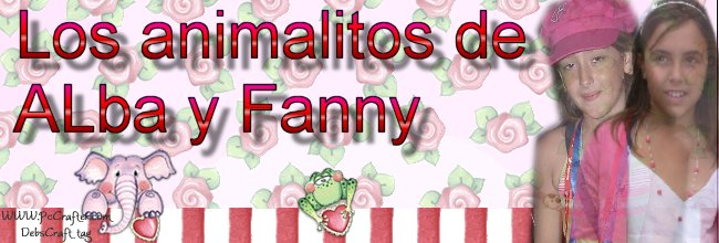 Los animalitos de Alba y Fanny