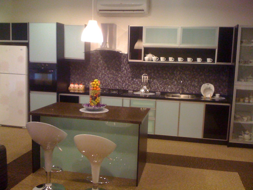 Decoration cuisine salon aire ouverte for Comptoir cuisine americaine