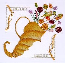 Cross Stitch Cornucopia