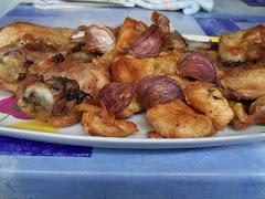Garlic Chicken whit tyme