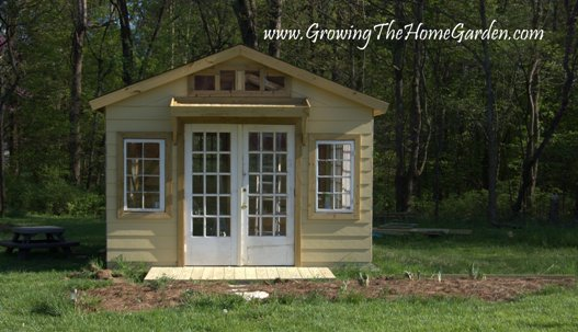 Garden Sheds With Porch garden shed with a front porch - growing the home garden