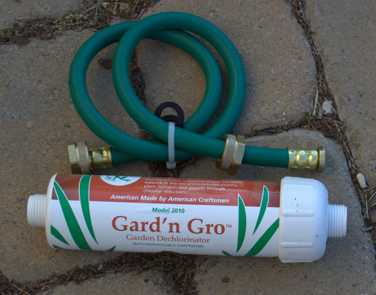 A garden filter review growing the home garden for Garden water filter