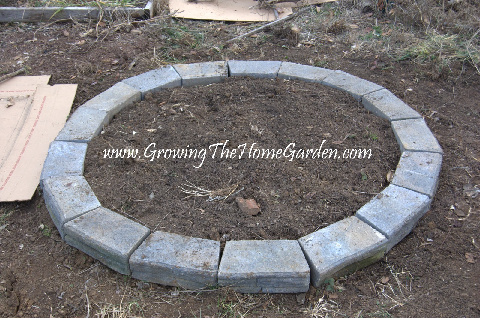 Circular Bed The Circular Raised Bed Growing The Home Garden