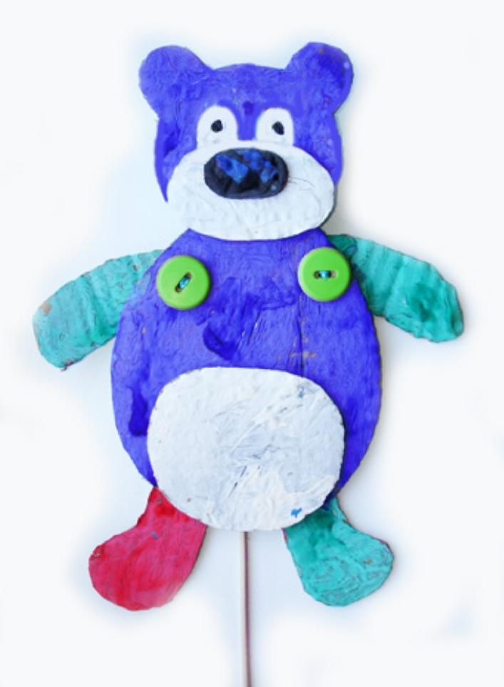 Игрушки дергунчики своими руками шаблоны медведь