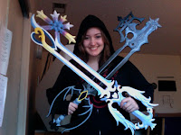 Oathkeeper and oblivion keyblades how to make
