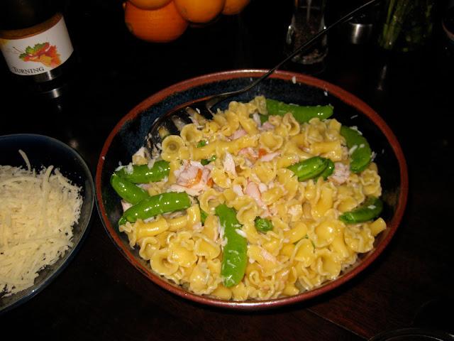 Smoked tuna pasta recipe