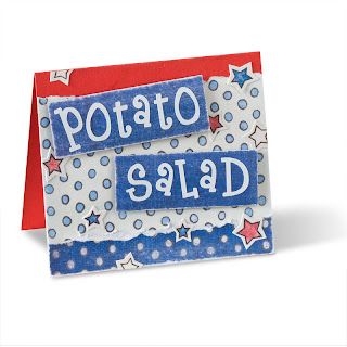 Helens Creative Corner Table Tent Cards For Your July Th Parties - Create table tents