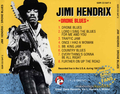JIMI HENDRIX 1970 Drone Blues