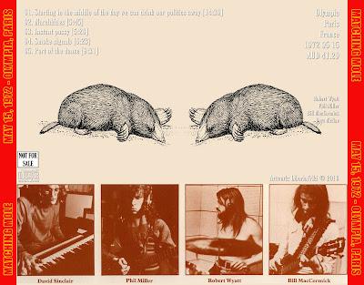 MATCHING MOLE 1972-05-15 Paris, France