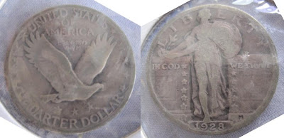 usa standing liberty  quarter 1928