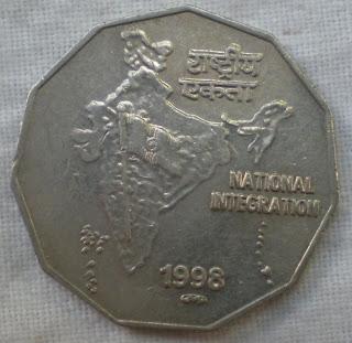 2 rupee pretoria mint