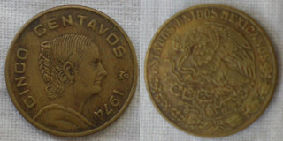 mexico cinco centavo