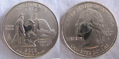 usa california state quarter