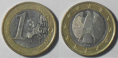 germany 1 euro 2002