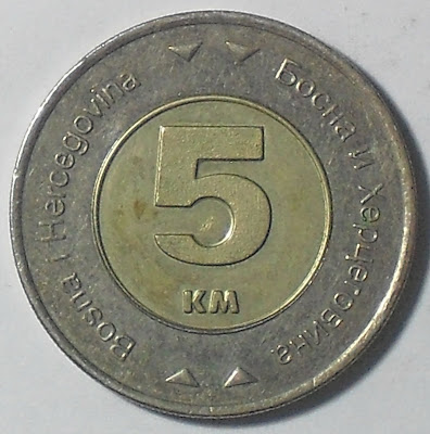 bosnia herzegovina 5 konvertible marka 2009