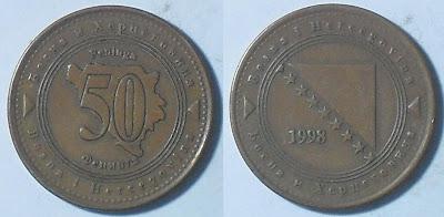 bosnia herzegovina 50 feninga 1998