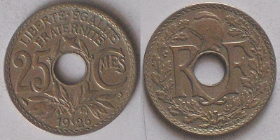 25 centimes france 1926