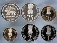 RBI platinum jubilee set