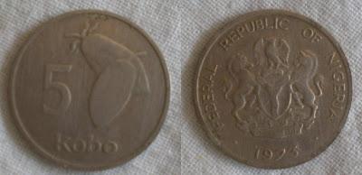 nigeria 5 kobo 1973