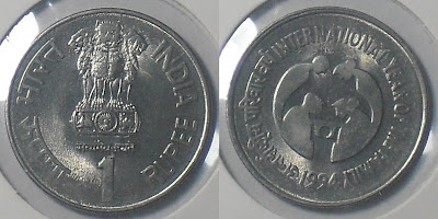 1 rupee international year of family