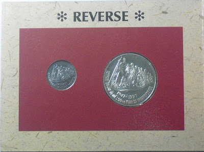 50 years independence unc set reverse