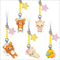 Looking for dark brown rilakkuma with pillow from this series!