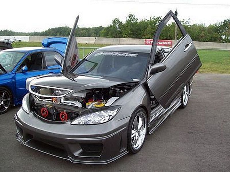 How To Modyfy Your Car  Modified Toyota Camry 2002