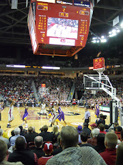 Rob gets to attend a USC Basketball game!